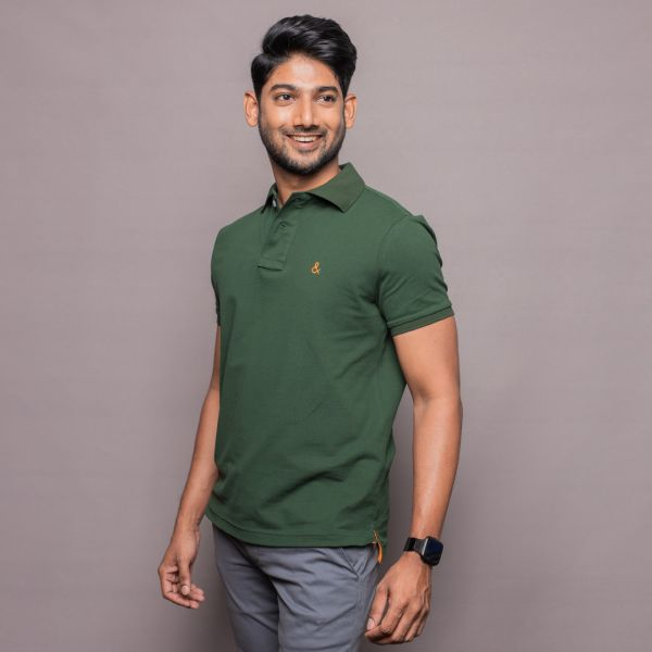 Pine Green Polo Shirt